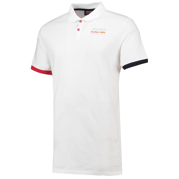 Red Bull Men's White Polo