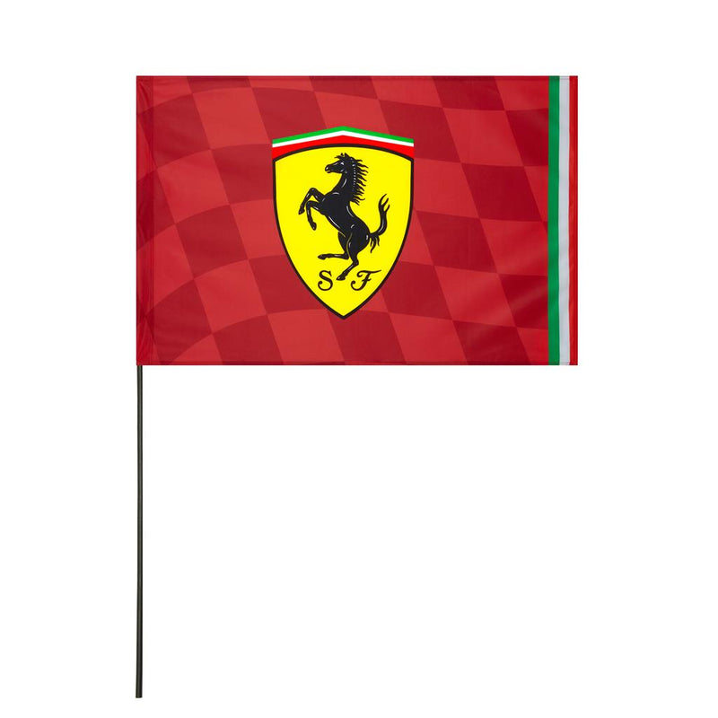 Ferrari Flag With Pole