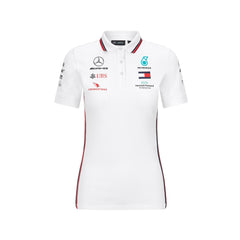 Mercedes Ladies Replica 2020 Polo-White
