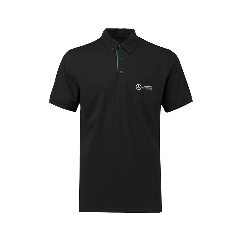 Mercedes Men's Classic Polo - Black
