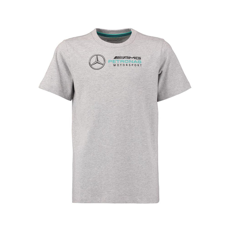 Mercedes Child's Logo Tee Shirt - Grey