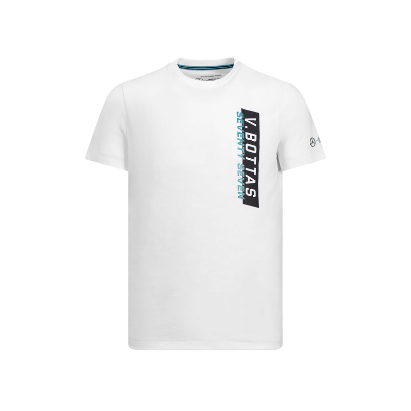 Mercedes Men's Valtteri Bottas 77 T Shirt