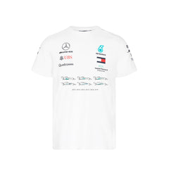 Mercedes Lewis Champion Tee Shirt-White