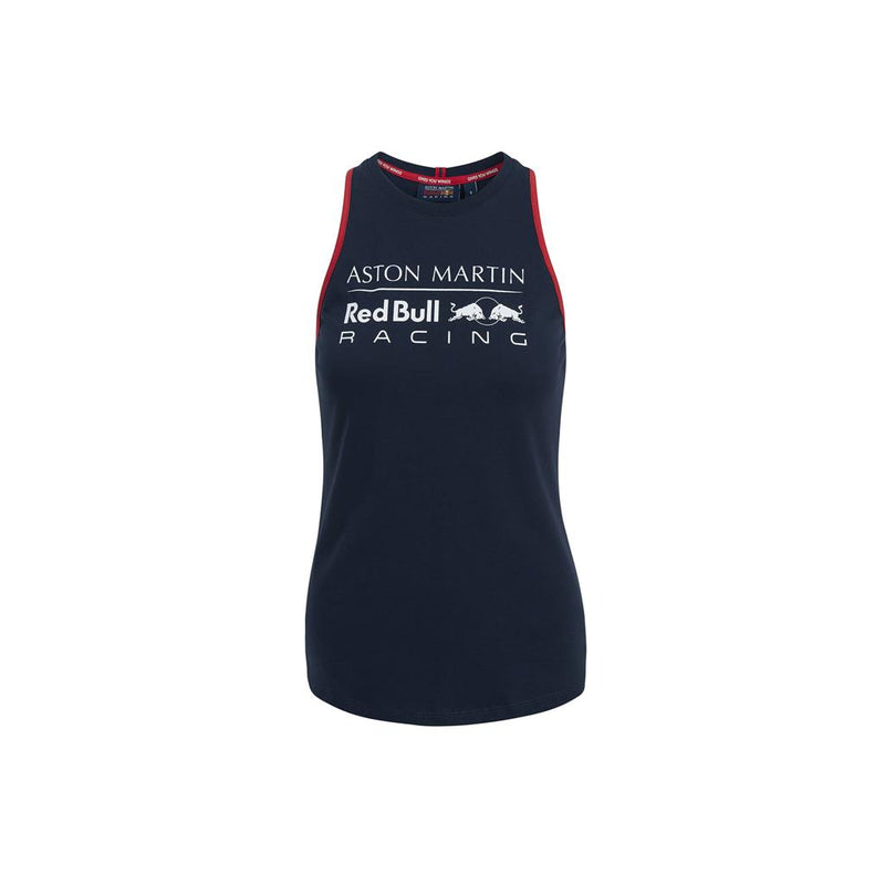Aston Martin Women's Vest - NAVY AND WHITE AVAILABLE IN XL