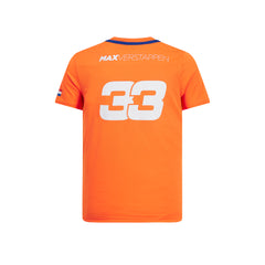 Red Bull Verstappen Sportswear  Tee Orange - Adult