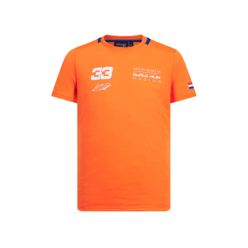 Red Bull Verstappen Sportswear  Tee Orange - Child