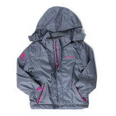 Girl's Shell Coat - Grey