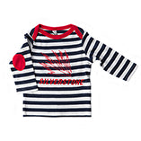Baby Stripped Long Sleeved T Shirt
