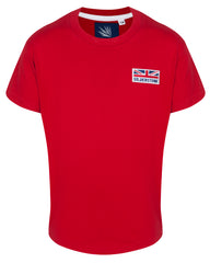 Essential Childrens T UJ Logo Red