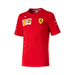 Ferrari Replica Child's Tee Shirt - Red 2019