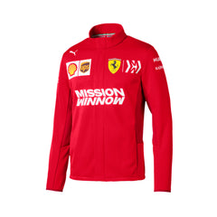 Ferrari Replica Men's Soft Shell Jacket - Red