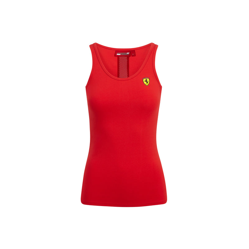 Ferrari Women's Racer Back Tee Shirt