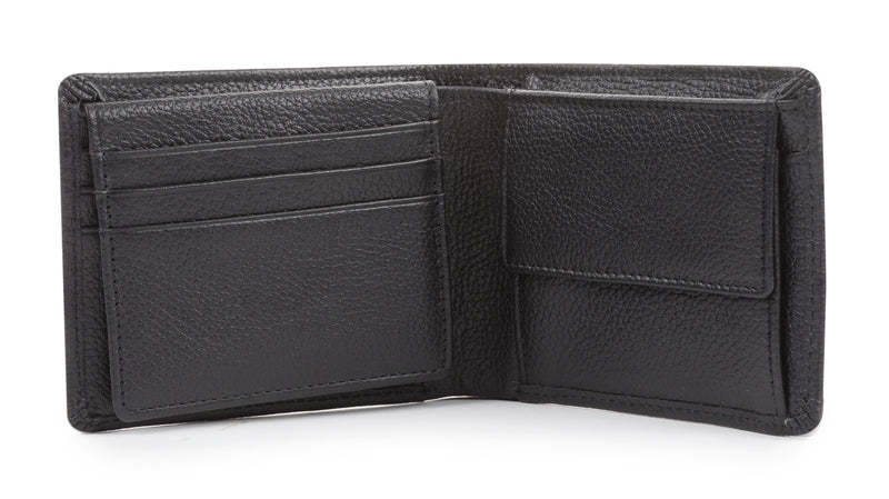 Leather Embossed Wallet in Gift Box