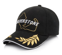 Laurel Embroidered Peak Adult Cap