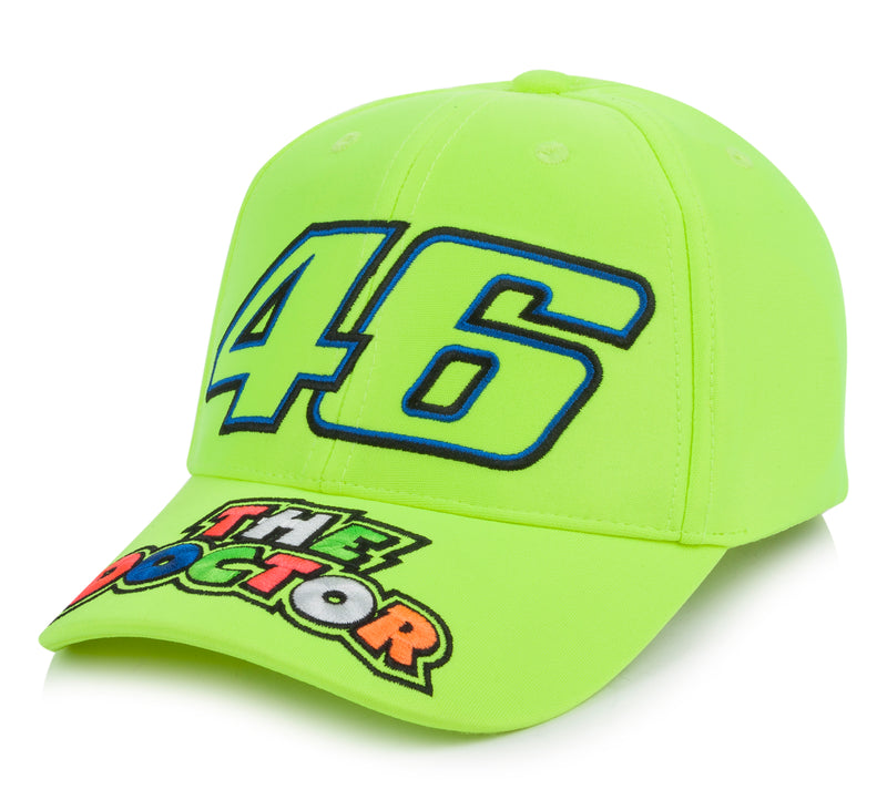 VR46 Child's The Doctor Cap 46 Fluo