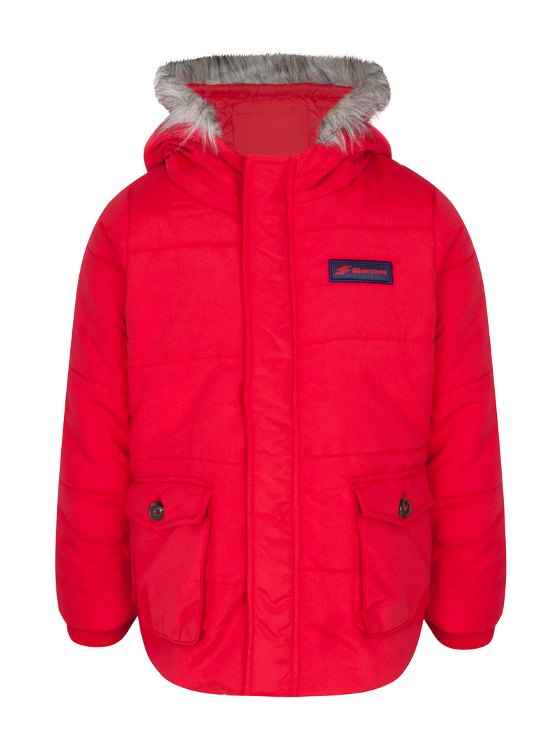 Infant Astro Coat - Available in Red or Navy