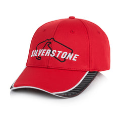 Adult Red Track Embroidered Cap