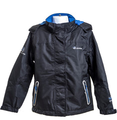 Child's Waterproof Coat- Black