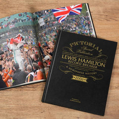 Lewis Hamilton: Record Breaker - A Special Edition Newspaper Pictorial Book