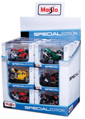 1:18 Motorcycle Assortment M34007