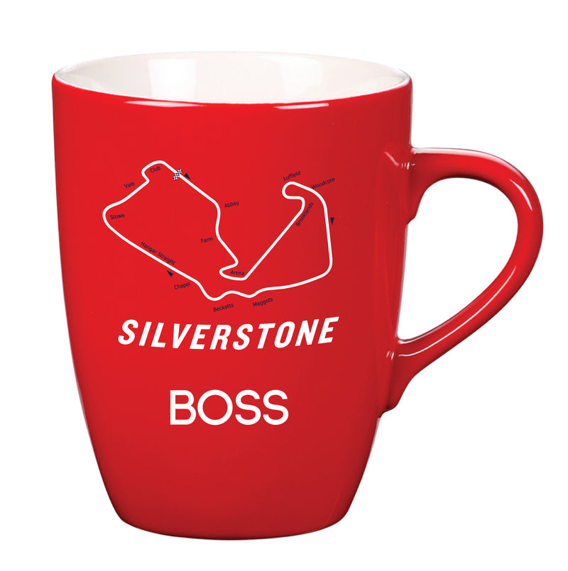 Track Named Mugs Boss