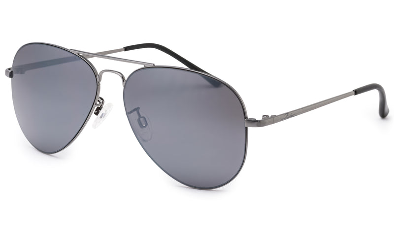 Stowe Sunglasses - Silver