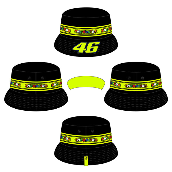 VR46 Bucket Hat Tapes - Child 2020