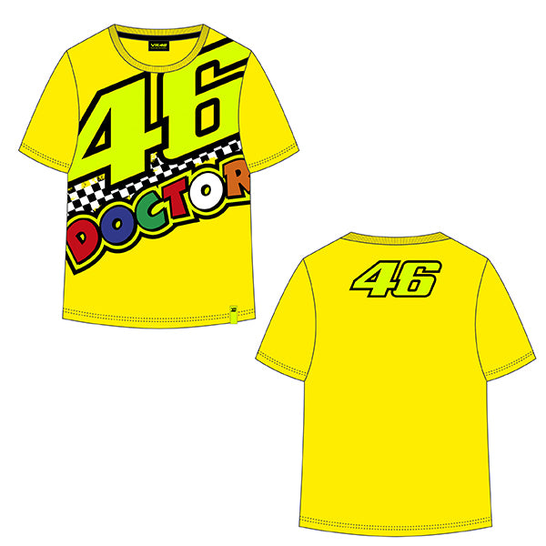 VR46 The Doctor Tee Shirt Child's 2020