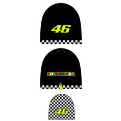 VR46 Double Sided Beanie Race U Child's 2020