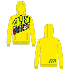 VR46 Full Zip Hooded Top 46 The Doctor Men's 2020