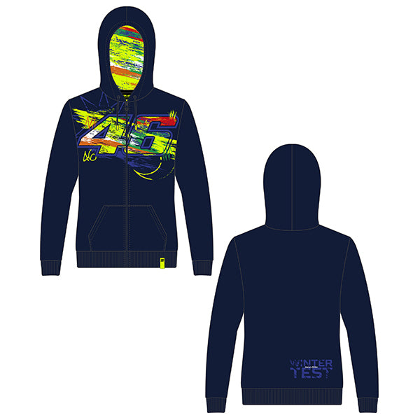 VR46 Ladies Winter Hooded Top 2020
