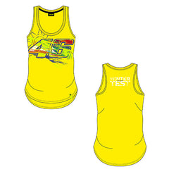 VR46 Ladies Winter Test Tank Top 2020