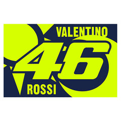 VR46 Sole E Luna Flag 2020