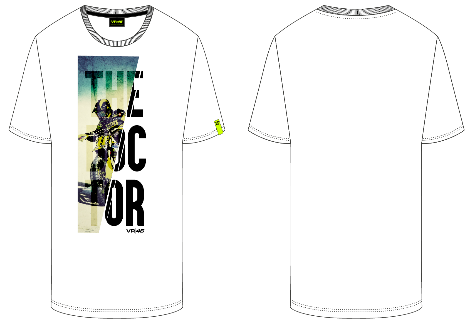 VR46 The Doctor Adult Tee Shirt 2020