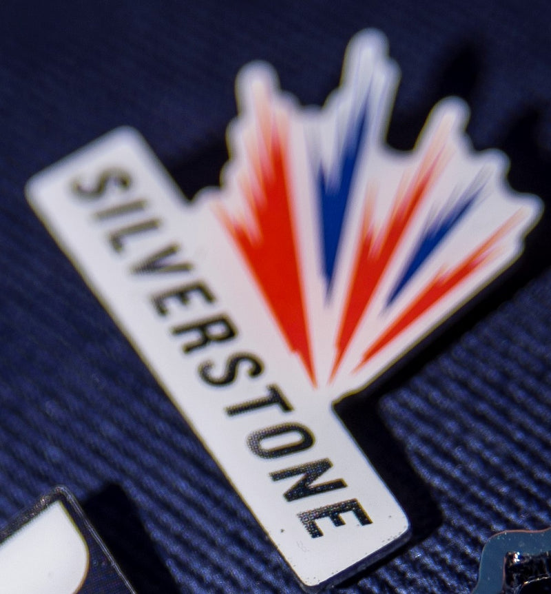 Silverstone Logo Pin Badge