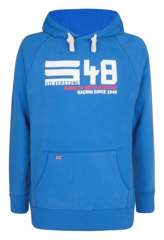 Men's Hooded Top - Cobalt Blue