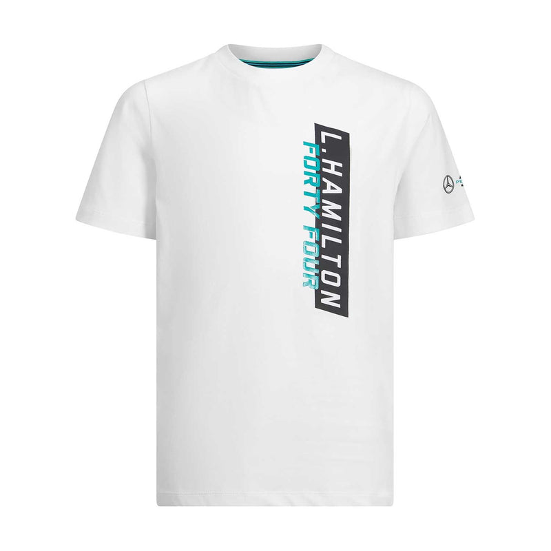 Mercedes White Child's Lewis T Shirt