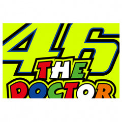 VR46 46 The Doctor Flag