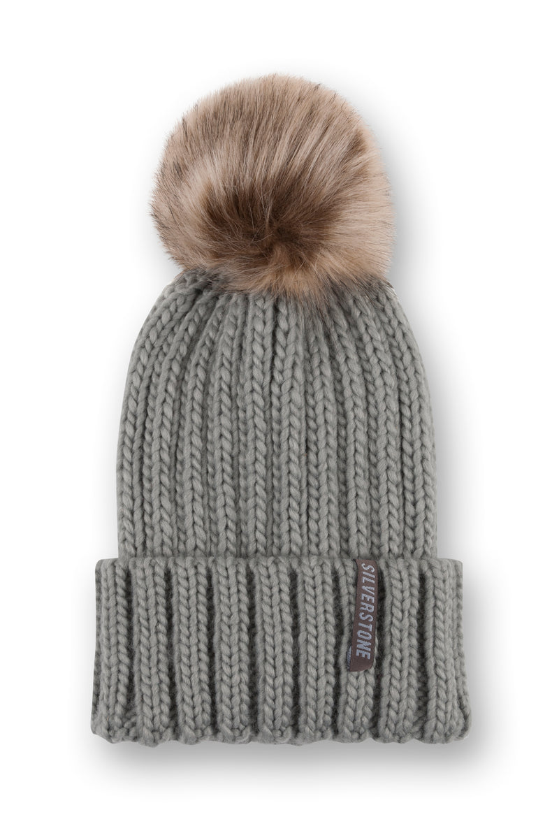 Faux Fur Bobble Hat