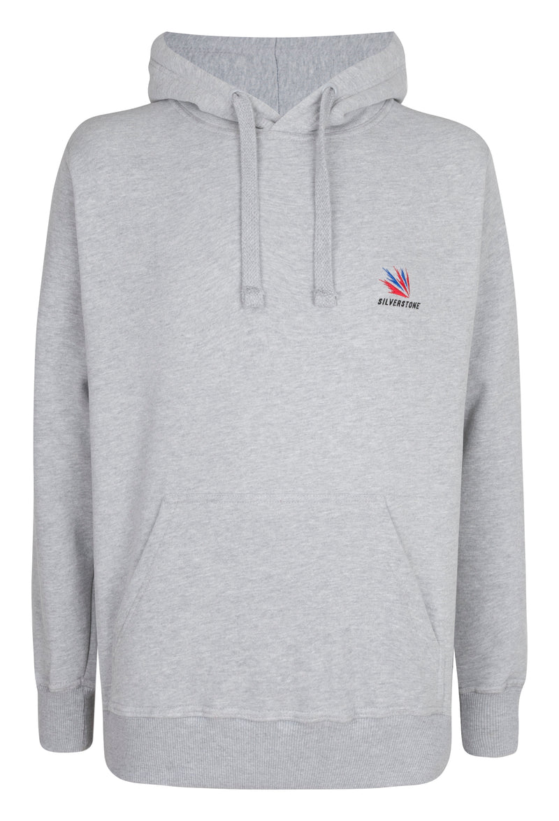 Racer Adult Grey Hooded Top