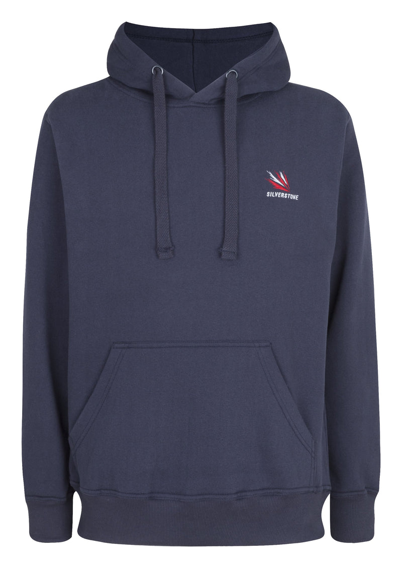 Racer Adult  Navy Hooded Top