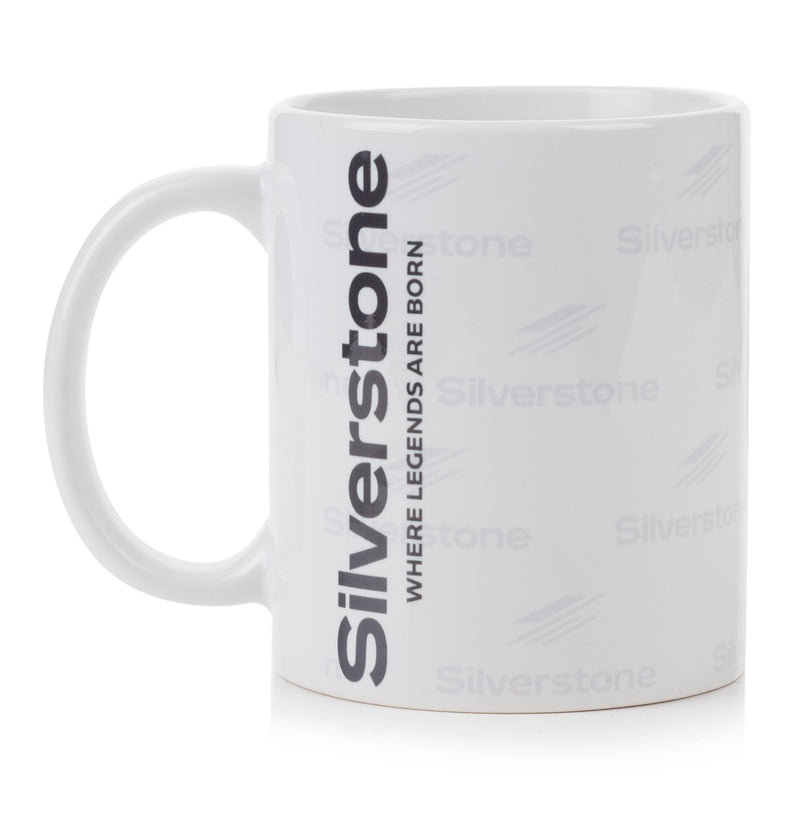 Silverstone Repeat Shadow Logo Mug