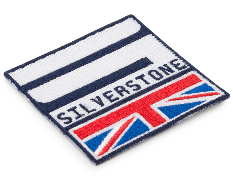 Silverstone Embroidered Patch