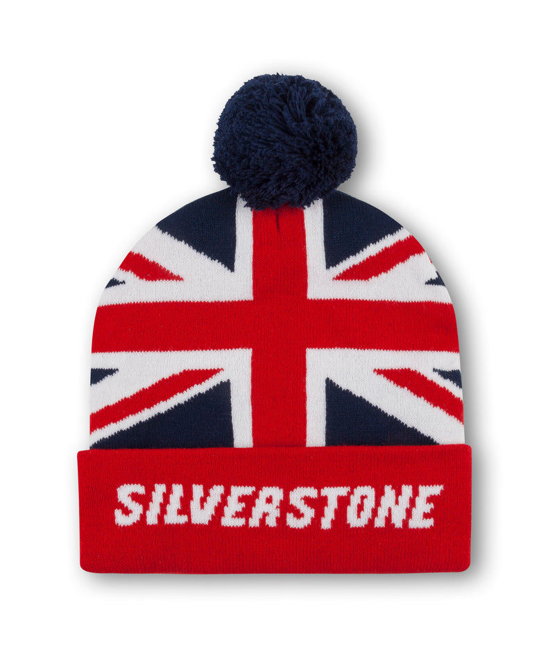 Union Jack Bobble Beanie