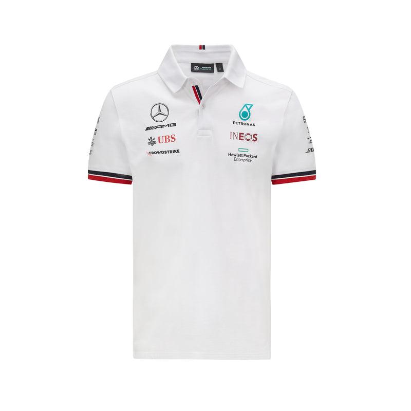 MAPF1 Replica Team Polo - White -2021
