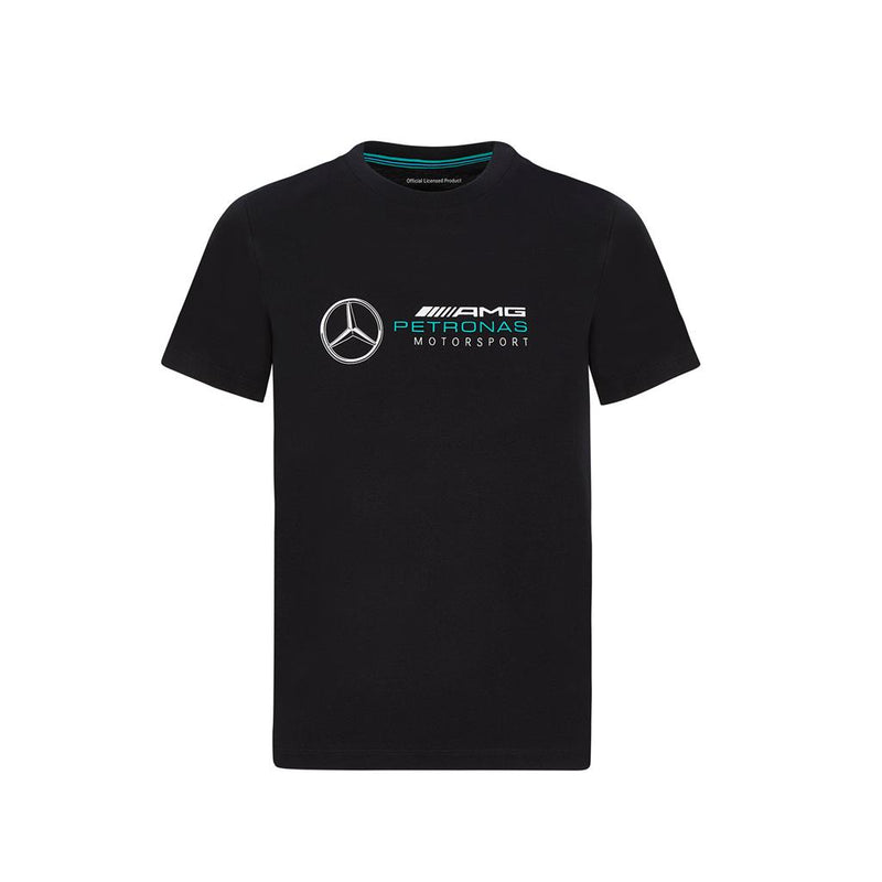 Mercedes Child's Large Logo Tee Black