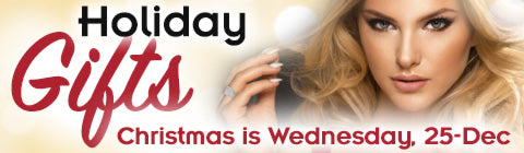 Holiday Gifts - Christmas is Wednesday 25-DEC