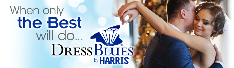 When only the best will do, Dress Blues by Harris