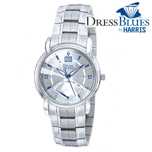 Men's Dress Blues® stainless steel watch