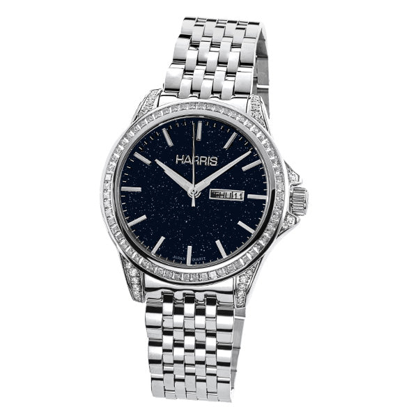 Men's Harris stainless steel watch